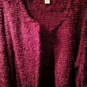 Chico's Maroon Duster Size 2